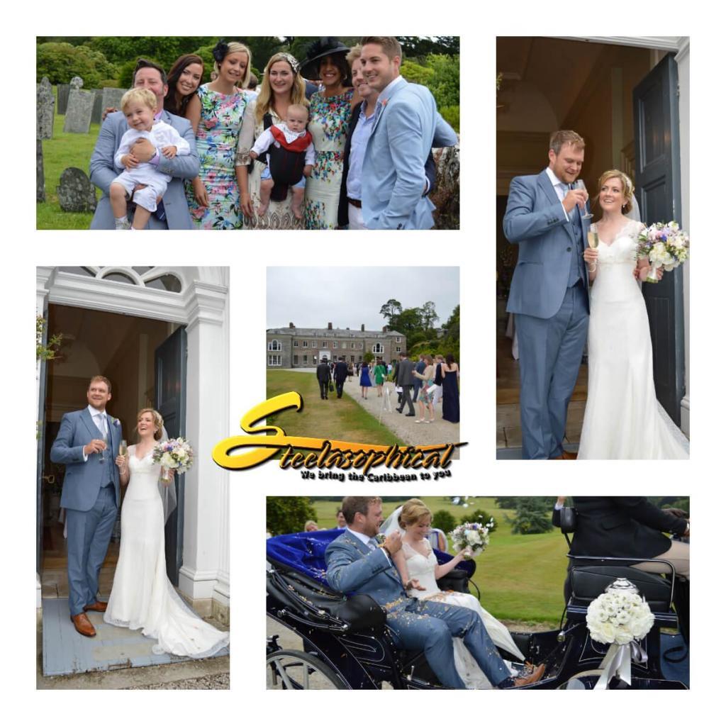 wedding Bournemouth steelasophical steelband