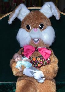 Ryder and Easter Bunny