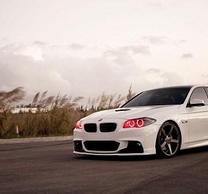 Tuned-BMW-5-Series-on-Vossen-CV3-Wheels