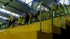Fans von Eintracht Braunschweig beim Hallenhockey der Damen