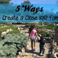 5 Ways To Create A Close Knit Family