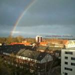 Regenbogen über Bad Oldesloe