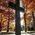 Das Kreuz auf dem Oldesloer Friedhof
