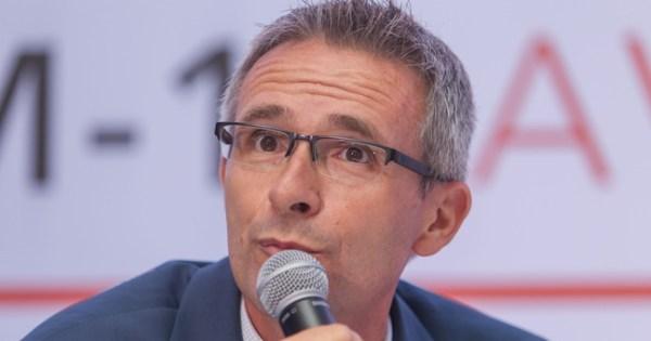 Stephane Troussel, président du Conseil départemental de la Seine-Saint-Denis, le 15 septembre 2016. - SIPA