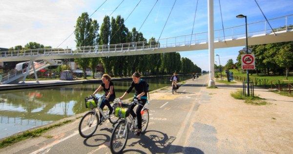 Jolie photo mobilité vélo CD