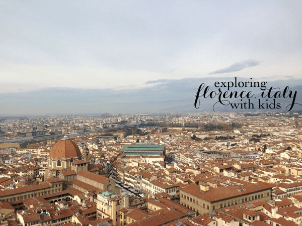 Florence with Kids | via Stephanie Howell #florence #italy #travelwithkids