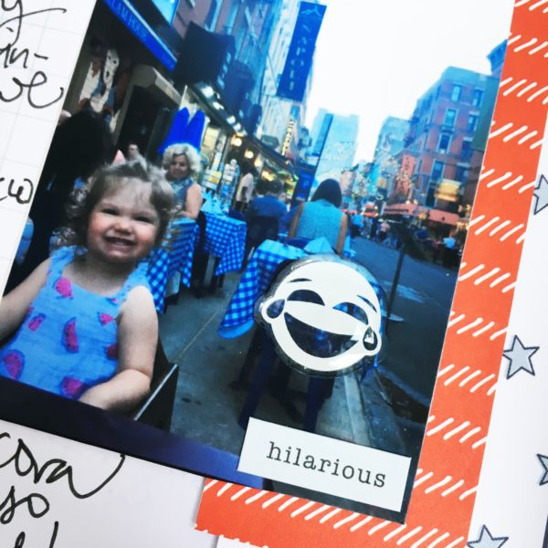 NYC #TravelersNotebook // via Stephanie Howell #gossamerblue
