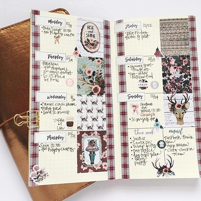Getting Creative in Your #Planner // via StephanieHowell.com