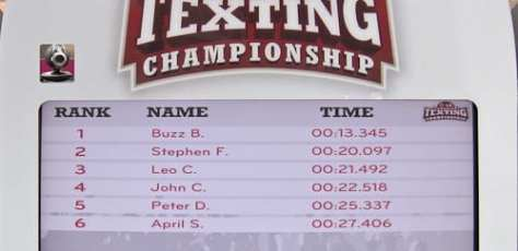 2009 LG Canadian Texting Championships   Vancouver Media Challenge