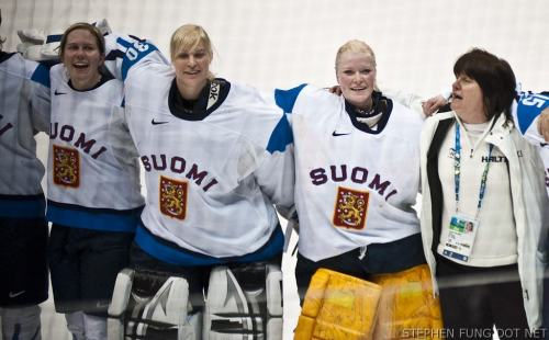 Sweden vs Finland   Photos From The Womens 2010 Olympics Bronze Medal Hockey Game