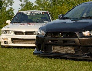 Mitsubishi Evolution and Respect VR48789