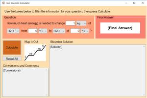 Heat Equation Calculator