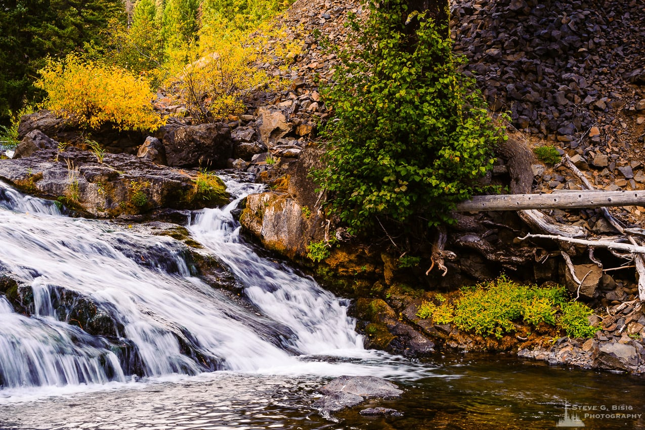Early Autumn Afternoon Drive Along the Little Naches River, Washington, 2016
