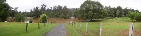 Bellingen flood April 1, 2009 (composite image)