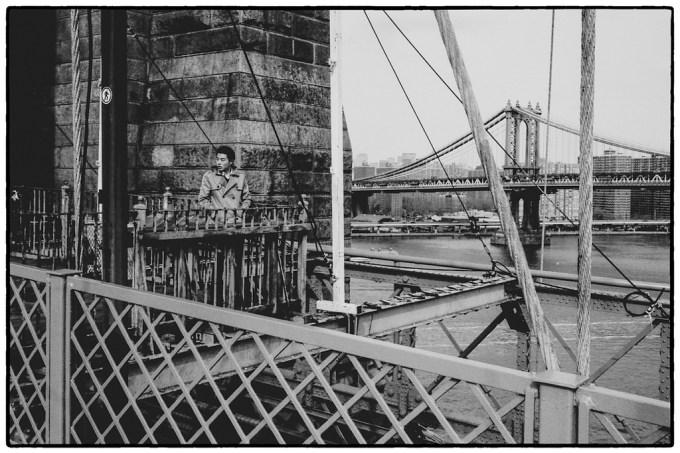 Brooklyn Bridge MAn