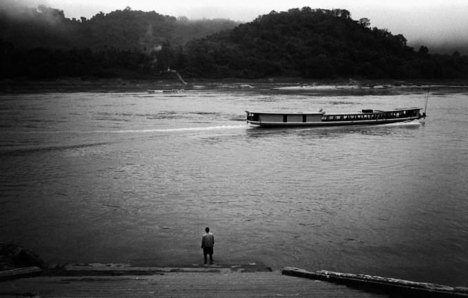 Mekong Luang Prabang Leica M6 Elmarit Tri-X ISO250