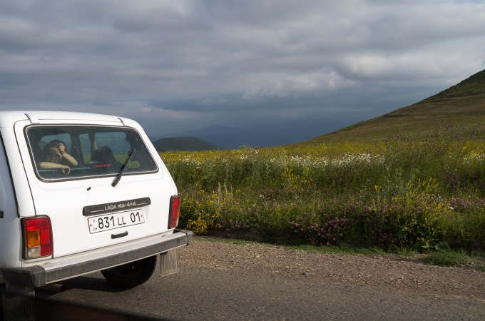 12. Look in the Lada