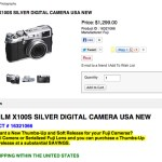 PSA: Fuji X100s in stock at PopFlash.com!