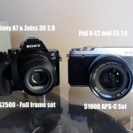 Coming next week: Fuji X-E2 and 23 1.4 vs Sony A7 and 35 2.8 report
