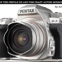 The Pentax K3 and the Crazy-Acting Mirror Sickness  by Amy Medina