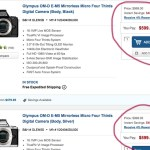 $400 off on the Awesome Olympus OM-D E-M5!