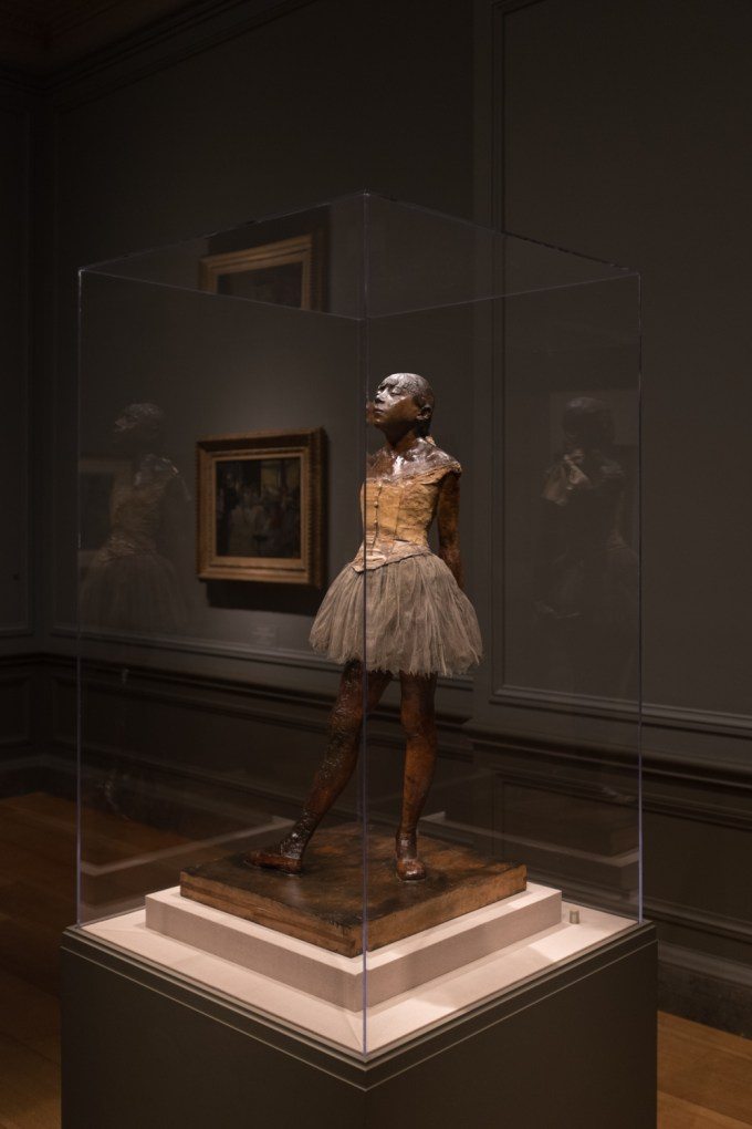 Picture 6 - The Little Dancer by Degas in The National Gallery of Art 12 Dec 2014-DSCF0010