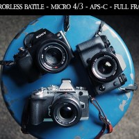 MIRRORLESS BATTLE! Micro 4/3 vs APS-C vs Full Frame!