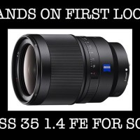 HANDS ON: The Zeiss Distagon T* FE 35mm F1.4 ZA Lens. Samples, and my 1st thoughts!