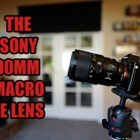 The Sony 90mm Macro 2.8 G lens for the FE (A7) System.