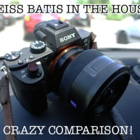 Crazy Comparison! Zeiss Batis 85 f/1.8 vs Mitakon Speedmaster 85 1.2!