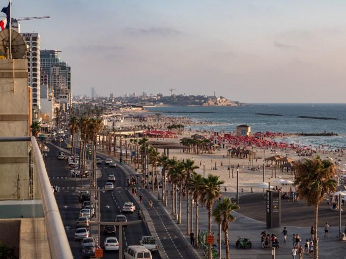 Tel Aviv Mediterranean Coast