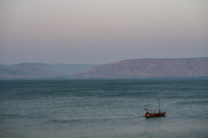 All around the Sea of Galilee is where Jesus spent 95% of his life.