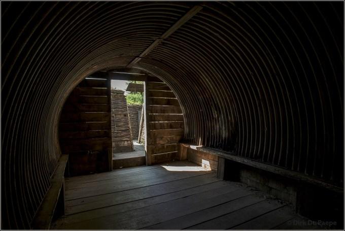 04 Inside Trench Shelter