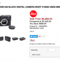Leica Monochrom Typ 246 - Deal at PopFlash.com!