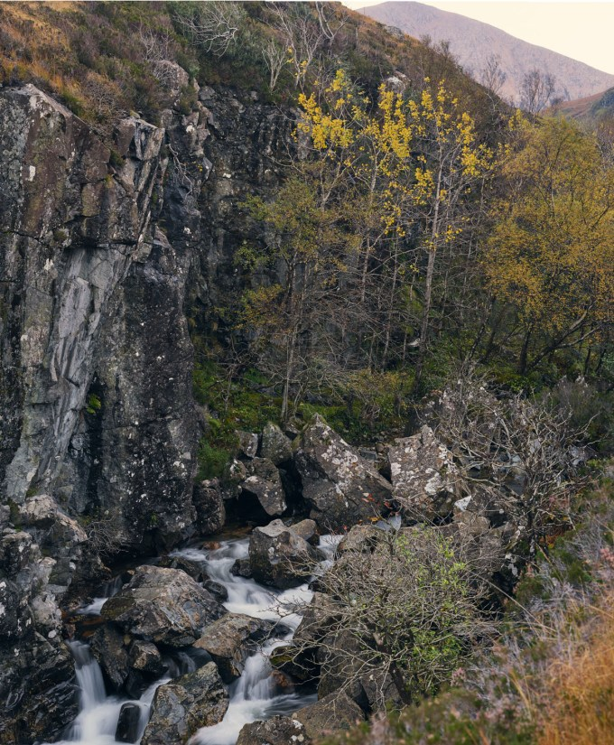 Sligachan Waterfall2