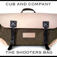 The Cub & Company Shooter's Camera Bag. Hand made in the U.S.A. (Video)