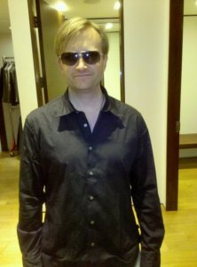 Shopping at John Varvatos in Caesar's Palace