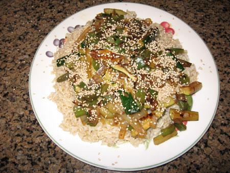 Raw food diet day 31 dinner