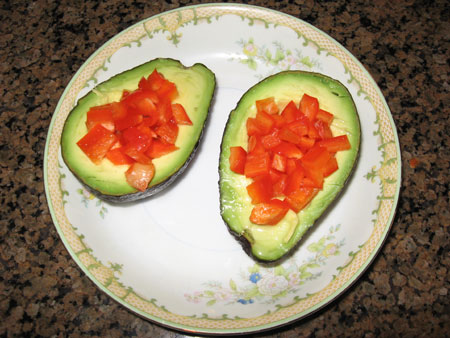 Raw food diet day 9 snack