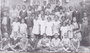 John Coltrane's 3rd Grade Class Photo -- High Point North Carolina - 1934