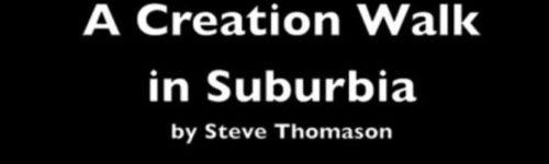 creation walk title slide