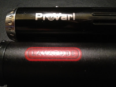 e-cigarette reviews provari vs lavatube comparison title image