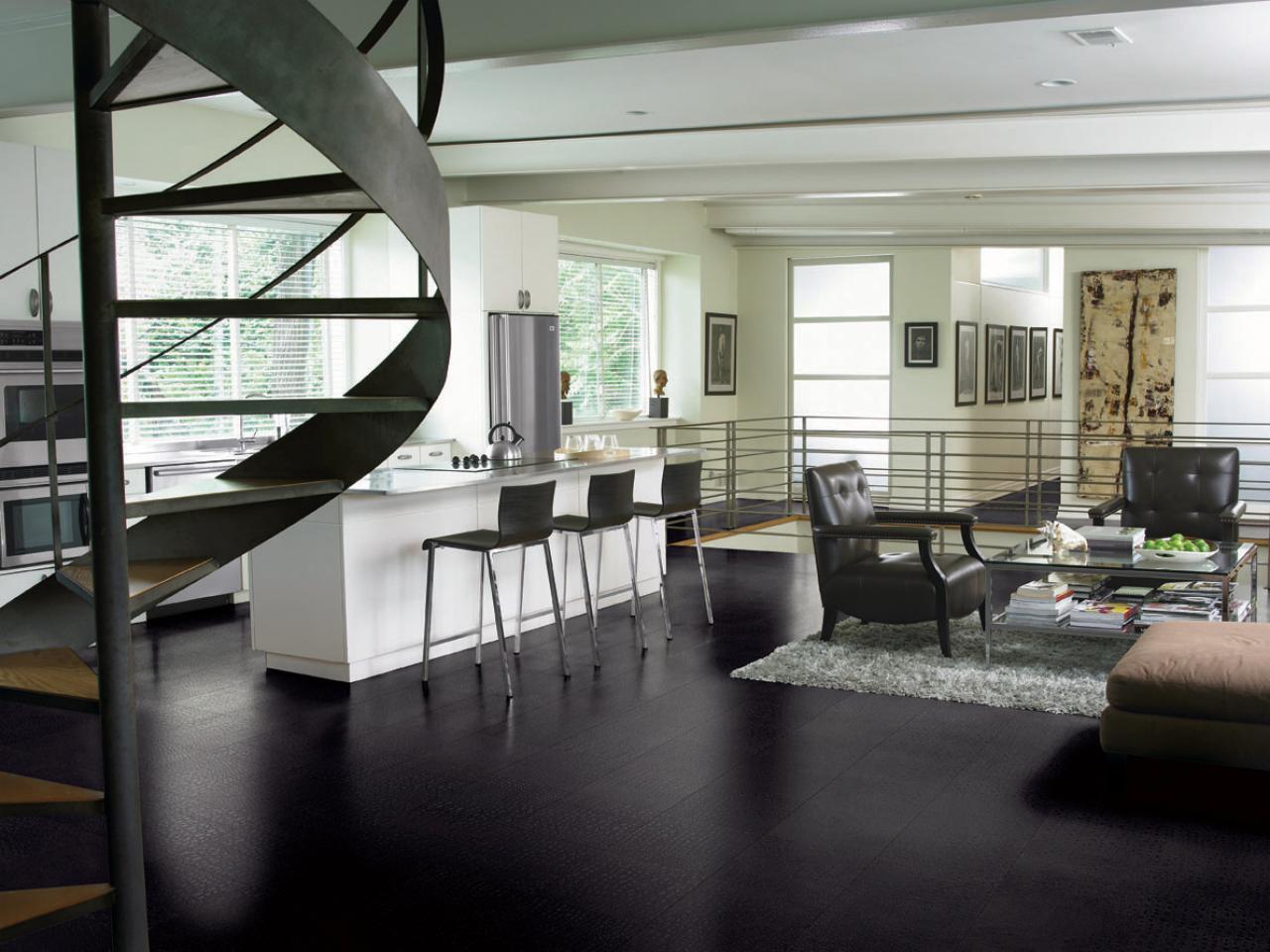 awesome original the modern black hardwood tile floor designs for kitchens f improf 1280x960