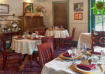Inn dining room
