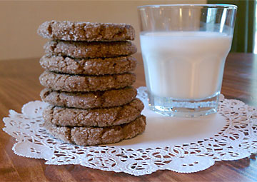 chocolate snickerdoodle cookies