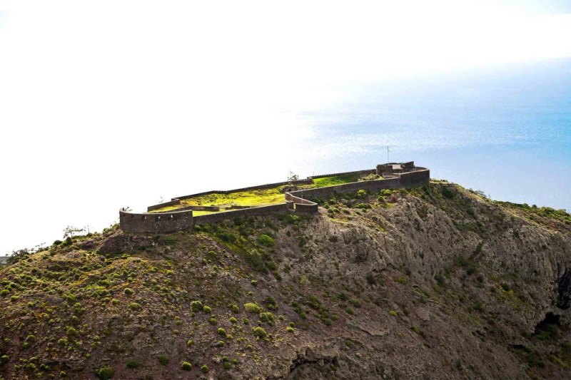 High Knoll Fort, St Helena Island