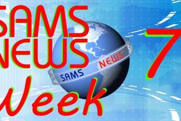SAMS St Helena News Report . 29 May 15