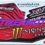 Yamaha Jupiter Z 110 Monster grafis Batik