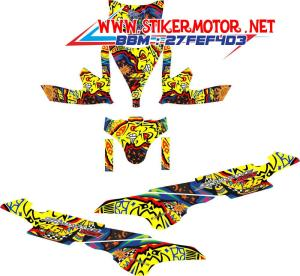 striping motor Sky Wave rossi sun&moon