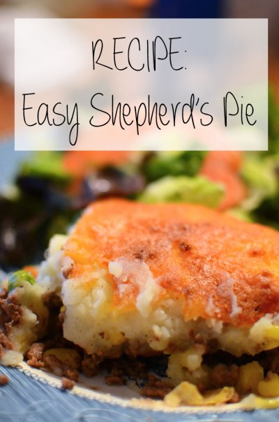 RECIPE | Easy Shepherd's Pie & Funday Monday Link-Up! - still being [Molly]